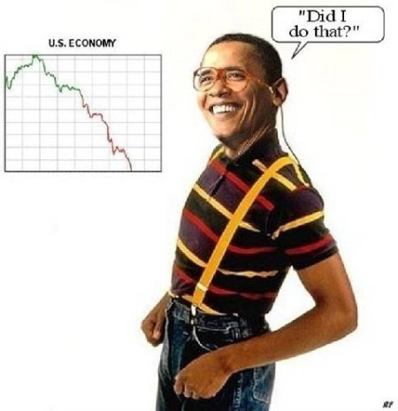 The econmy by Obama